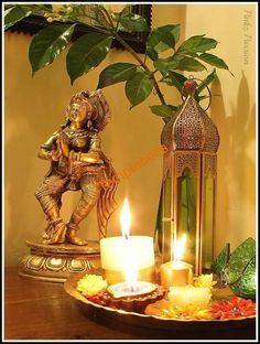 Brass Collectibles Collection Decor Vignettes Diwali