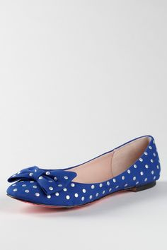 Betsey Johnson  Toby Embellished Bow Flat