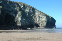 Trebarwith Strand Had my first Kiss in the cave!