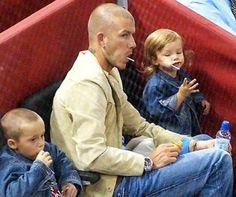 326d9917e585 I ♥ a man with a shaved head David Beckham Bald, David And Victoria Beckham