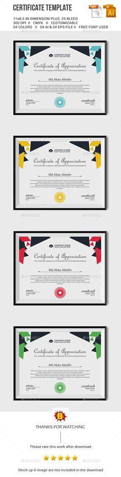 Certificate Template by BigBBang Certificate Design, Certificate Templates, Invoice Layout, Minimalist Graphic Design, Award Certificates, Graphic Design Inspiration, Booklet, Teaching, Education