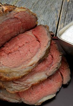Better than the local steakhouse and so much more cost effective! This ribeye roast with horseradish sauce is the most succulent and tender beef recipe ever!