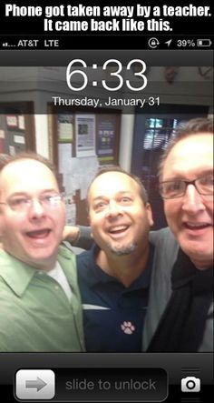 The teachers that did this with a student's phone: | 32 Teachers That Deserve A Giant Raise