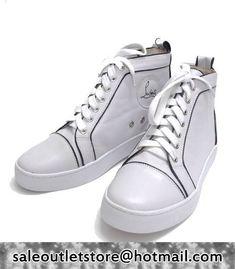 Christian Louboutin Pony #Sneakers White for Men-Ladies,Christian Louboutin High-Top Sneakers,Christian Louboutin shoes cheap,christian Llouboutin Men #Shoes Outlet,Christian Louboutin for Men,Christian Louboutin Sneakers #fashion #style