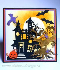 Mad Scrap Project Feliz Halloween, Ferrari Logo, Scrap, Logos, Projects, Halloween Cards, Death, Blue Prints, Tat