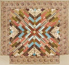 Collector With A Needle: Workt By Hand Hidden Labor in Historical Quilts 2013 now at Crocker Art Museum in Sacramento Old Quilts, Antique Quilts, Vintage Quilts, Scrappy Quilts, Summer Quilts, Winter Quilts, Bonnie Hunter, Indian Quilt, Civil War Quilts