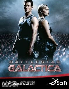 Jamie Bamber and Katee Sackhoff in Battlestar Galactica Battlestar Galactica, Kampfstern Galactica, Jamie Bamber, Best Tv Shows, Best Shows Ever, Favorite Tv Shows, Movies And Tv Shows, Favorite Quotes, Favorite Things