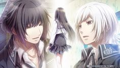 Itsuki and Sakuya both in love with Mikoto Manga Couple, Anime, Game Character, Beautiful Images, Comics, Games, Couples, Romance, Characters