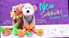 Scentsy 2017 fall winter brings us Luke the Lion and Meeka the Monkey in Jammy Time scent. Our new Sidekicks