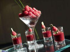 Dessert is delicious at this Party. Le Marais Paris, Marie, Raspberry, Fruit, Tableware, Glass, Desserts, 2013, Paris France