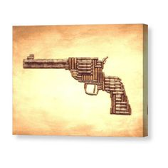 Colt SAA Canvas Print by Bryan Evenson. All canvas prints are professionally printed, assembled, and shipped within 3 - 4 business days and delivered ready-to-hang on your wall. Choose from multiple print sizes, border colors, and canvas materials. Ammo Crafts, Bullet Crafts, Colt Python, Bullet Art, Thing 1, Acrylic Sheets, Stretched Canvas Prints, Pretty Art, Canvas Material