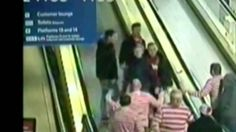 Ridiculous brawl between Man Utd fans and a Where's Wally stag party