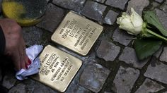 """Holocaust victims' memorial stones uprooted in Berlin  https://tmbw.news/holocaust-victims-memorial-stones-uprooted-in-berlin  Multiple """"stumbling stones"""" bearing names of people murdered or abducted by the Nazis were uprooted overnight in Berlin, German media report. Police are investigating, and some local politicians blame far-right extremists for the theft.The Holocaust memorial stones were stolen from Berlin's districts of Neukoelln and Britz, the Berliner Kurier newspaper reported on…"""