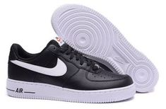 88afb2eb48749a Nike Air Force 1 Low Black White 488298 092 Mens Sneakers Nike Air Force 1  Outfit