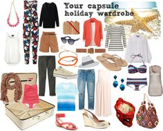 Your Capsule Holiday Wardrobe