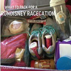 Some must-have items and packing tips for your runDisney racecation