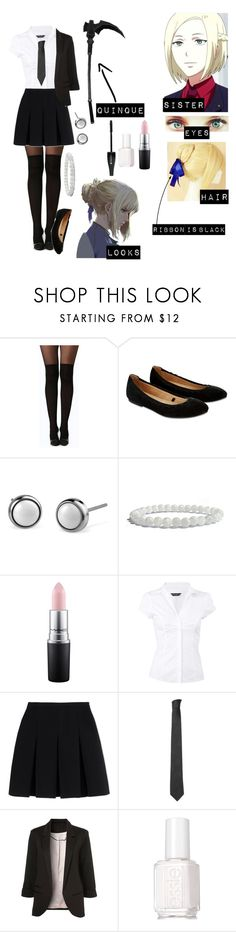 """""""Tokyo ghoul re oc"""" by gglloyd ❤ liked on Polyvore featuring Boohoo, Accessorize, Akira, Lancôme, MAC Cosmetics, Dorothy Perkins, Alexander Wang, Versace, WithChic and Essie"""