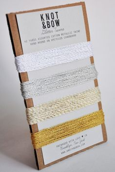 no idea what i'd use this for but i really think i could use this glitter twine in my life!