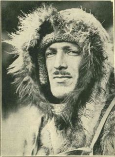 Bud Waite, chief radio man for Admiral Richard Byrd's Second Antarctic Expedition from 1933 to 1935.