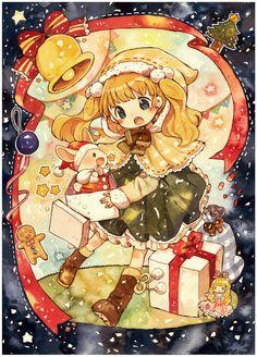 크리스마스 일러스트 카드