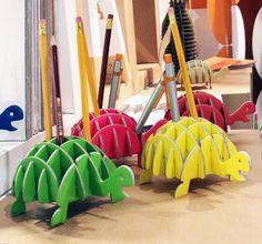 Karton colourful turtles