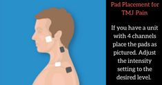 If you have ever experienced the discomfort of temporomandibular joint dysfunction (TMJ), then you know firsthand how much the pain can affect your daily activities. Tmj Massage, Massage Therapy, Facial Massage, Jaw Pain, Neck Pain, Tens Electrode Placement, Tens Unit Placement, Ems, Neck And Shoulder Muscles