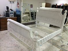 This is a King size bed that comes with headboard, footboard and rails. SOLD!! for $250