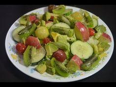 Ensalada de frutas y vegetales - YouTube
