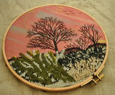01 Fly Stitch - Winter Trees (6)