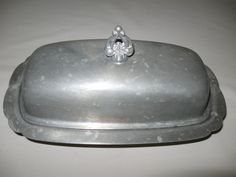 Colonial Pewter By Luther Boardman Butter Dish 1/4 Pd Cover Butter Discontinue  $14.99