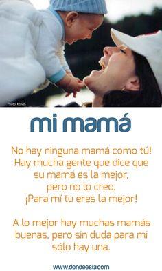 TE QUIERO MAMÁ 15 de mayo: Día Internacional de la Familia www.dondeesta.com