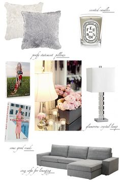 Literally my plan board for my living room