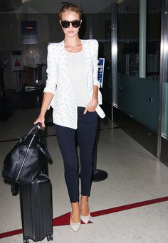 12+Insanely+Stylish+Celebrity+Airport+Arrivals+via+@WhoWhatWear
