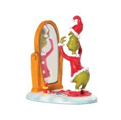 Dept 56 Grinch Village A Great Grinchy Trick $16.49
