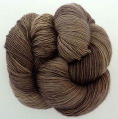 LACE Merino Singles TAUPE 100% Virgin Wool superwash by filzflash