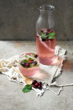 ..Twigg studios: cranberry mojito and diy beaded cocktail stick