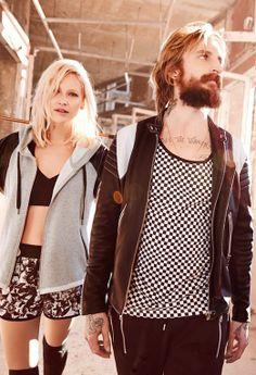 Lauren & Lizard - Couple /// Clothing - The Kooples.