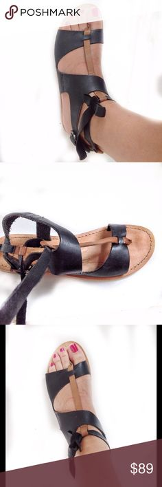 REBELS FRANCE ANTHROPOLOGIE GLADIATOR SAndals 6.5M New in box, never used, with leather insole, outsole, hand-sewn. By Rebels France Dor ANTHROPOLOGIE. They fit true to size. Thank you for visiting my boutique. Please, feel free to ask me any questions. Happy bundle! Rebels Shoes Sandals