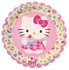 Hello Kitty Party Supplies - by a Professional Party Planner Hello Kitty Party Supplies, Diy Party Supplies, Origami, Party Plates, Party Napkins, Napkins Set, Hello Kitty Birthday, Cat Party, Sanrio Hello Kitty