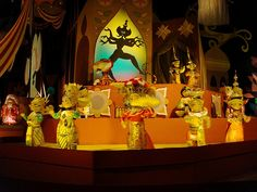 I still think this is sooo cool! It's Thai Dancers in Disney World - Small World ride! I saw it a few years ago!