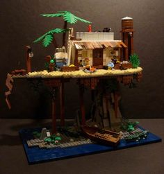 Lego Ideas for Homeschool I have to say, this looks like a scene from the Swiss Family Robinson.