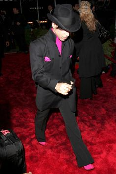 Prince during 31st Annual People's Choice Awards - Arrivals at Pasadena Civic Auditorium in Pasadena, California, United States.