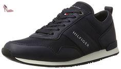 Tommy Hilfiger M2285axwell 11c2, Sneaker Basses Homme, Bleu (Twilight), 44 EU - Chaussures tommy hilfiger (*Partner-Link)
