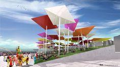 Exterior Mexican Pavilion