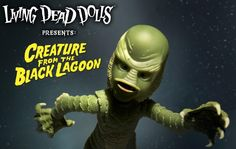 Creature From the Black Lagoon Becomes a Living Dead Doll