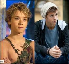 I always had a crush on Jeremy Sumpter, from Peter Pan to Soul Surfer <3