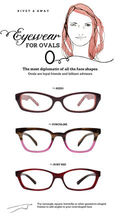 Best Glasses Frame For Face Shape : 1000+ ideas about Oval Face Shapes on Pinterest Oval ...