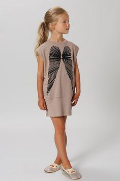 Dress Foundation - Gro.   Seen at http://springstof.eu/en/shop/brands/gro/gro-jurk-feathers.html