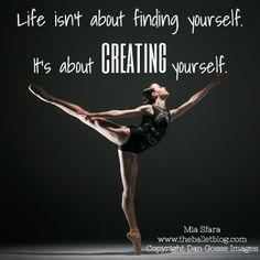 Life isn't about finding yourself, it's about creating yourself!  Get some new dance attire or take some dance lessons at Loretta's in Keego Harbor, MI!  If you'd like more information just give us a call at (248) 738-9496 or visit our website www.lorettasdanceboutique.com!