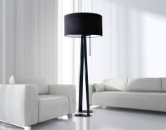 Minimalistic and uniqe floor lamp perfect for all kinds of interiors. see more: www.kadler.pl www.kadler.pl/onlineshop